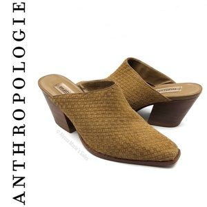 Anthropologie   Matisse Leather Mules
